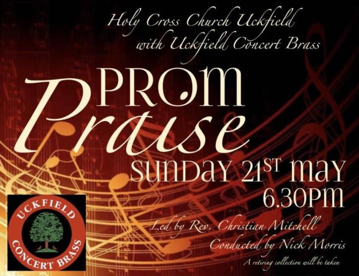 Proms Praise 2017 poster