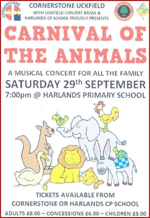 Carnival of the animals poster