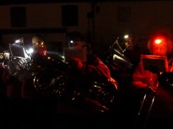 Band at Newick bonfire 2 November 2019 Photo: UCB